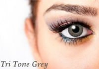 Tri Tone Grey Contacts - 90 Day